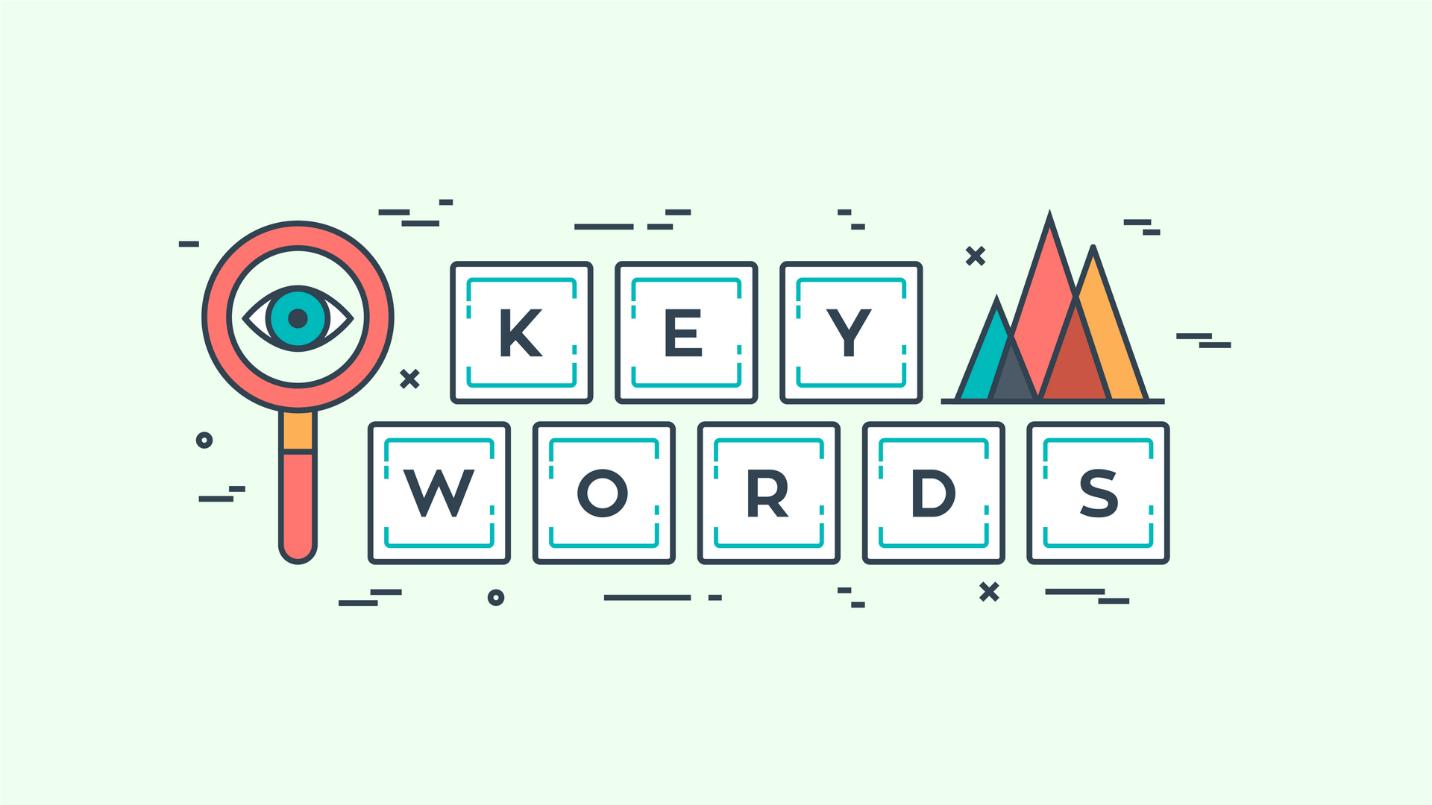 Get Your List of Keywords